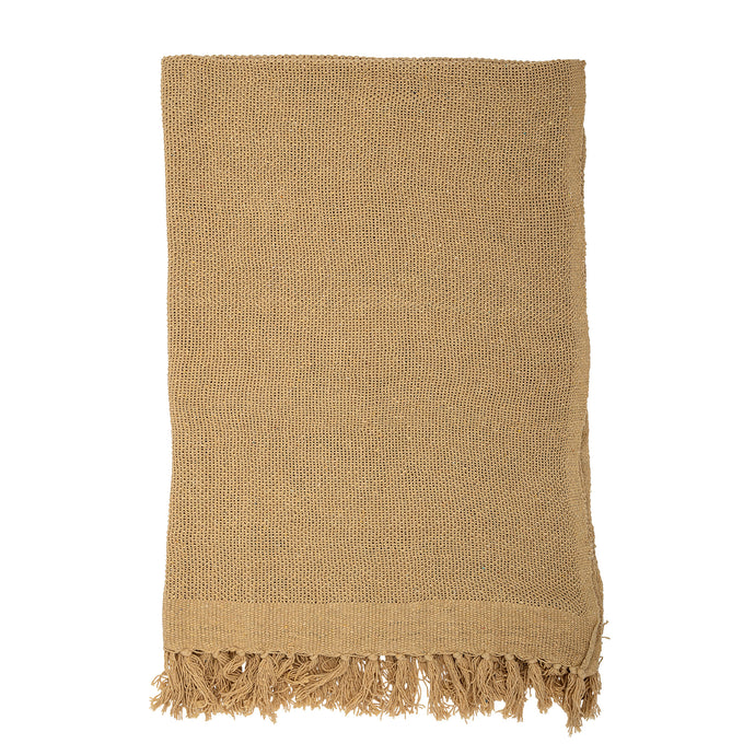 Cotton Throw, Gold