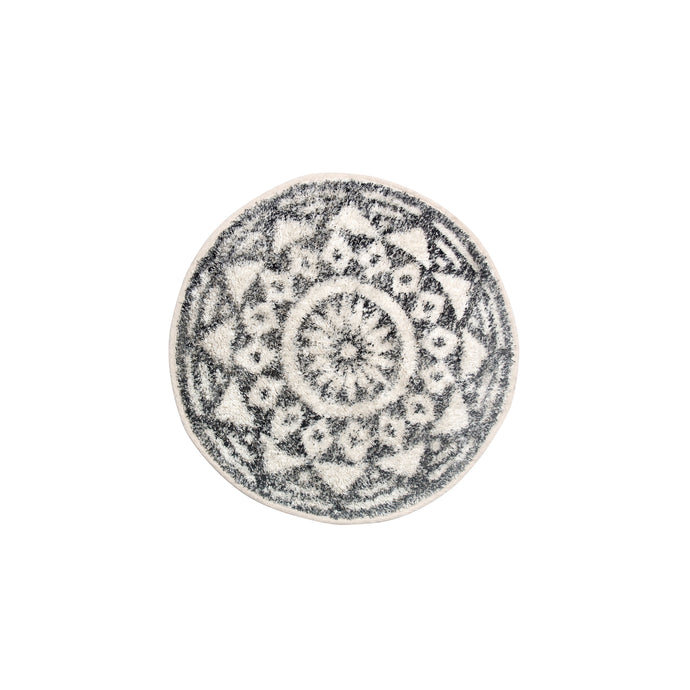 Round Patterned Mat (Small)