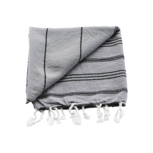 Hammam Towel, Grey