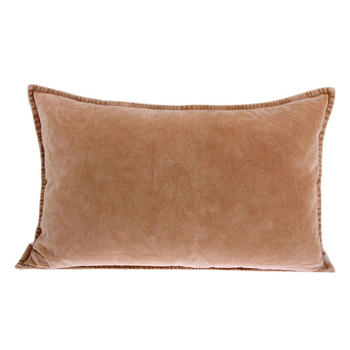 Velvet Cushion, Nude