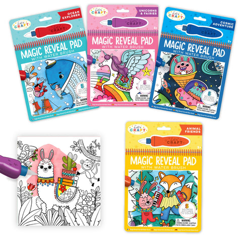 Bright Stripes - Magic Reveal Pads  Series 1