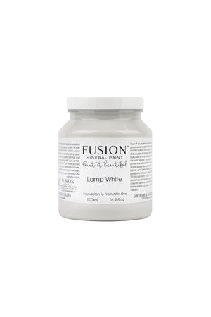 Fusion Mineral Paint Lamp White