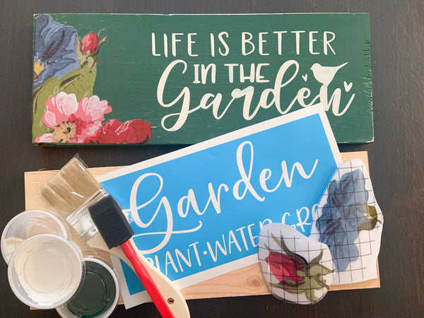 Garden Inspired DIY LIVE Workshop