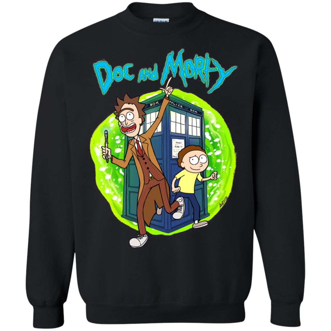 Doc And Morty T Shirt