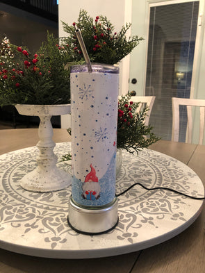 Gnomes in the Snow Tumbler