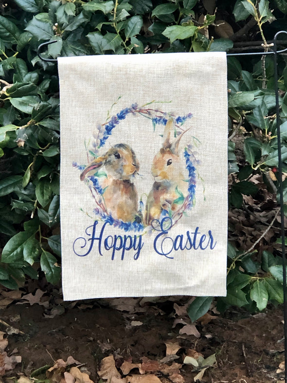 Hoppy Easter Bunny Flag
