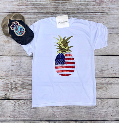 Pineapple Short Sleeve T-shirt