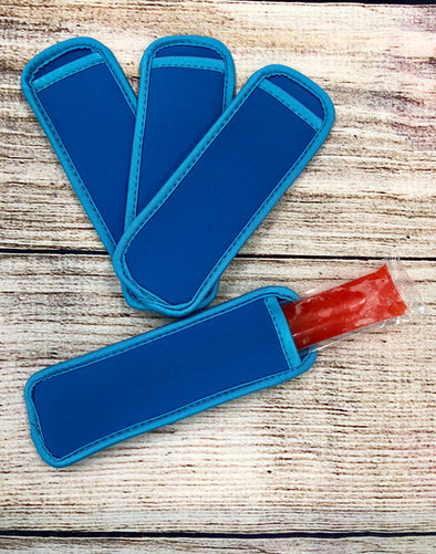 sky blue popsicle holder