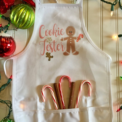 Christmas Apron Cookie Tester Gingerbread (Child Size)