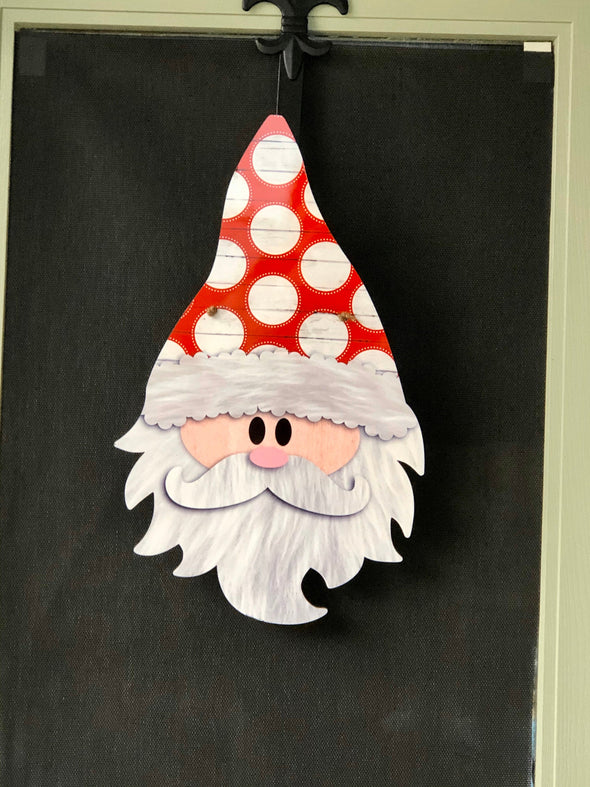 Santa Christmas Door Hanger