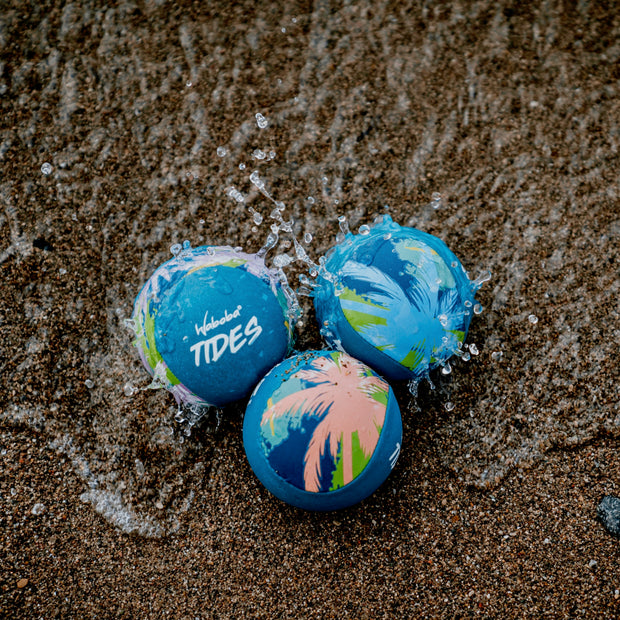 Enjoy Water bouncing balls with Waboba's Tides