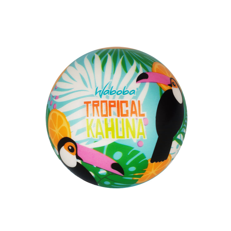 Enjoy Water bouncing balls with Waboba's Tropical Kahuna
