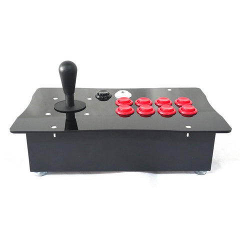 RAC-J500H Happ Arcade Fight Stick Joystick Concave Push Button Metal Case PC USB
