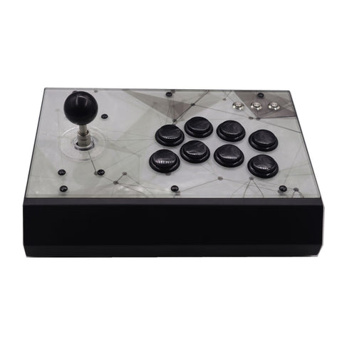 RAC-P300J Arcade Fight Stick Detachable Joystick For PS4/PS3/PC Metal Case Acrylic Artwork Panel