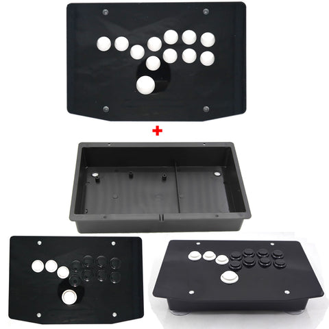 DIY Hitbox Joystick All Button Fighting Game Controllers Acrylic Panel and Case