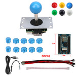 RAC-D300 DIY Arcade Joystick 5Pin Kits 8 Way Joystick Buttons USB Encoder Cables