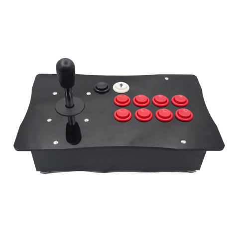 RAC-J500H American Style Arcade Joystick Concave Push Button Metal Case PC USB