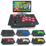 10 Buttons PC USB Arcade Joystick Wired Games Controller Acrylic Panel