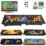 TableTop Arcade Raspberry Pi B+ Retro Game Console Wooden Panel Two Players