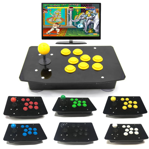 Acrylic Arcade Games Joystick Gamepad USB Wired Controller Fully Customizable