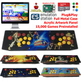TableTop Arcade Retro Game Console Raspberry Pi 3B+ Artwork Panel Metal Case