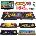 Pandora Box 9S 3D 3160 Games Retro Video Game Arcade Console Wooden Panel