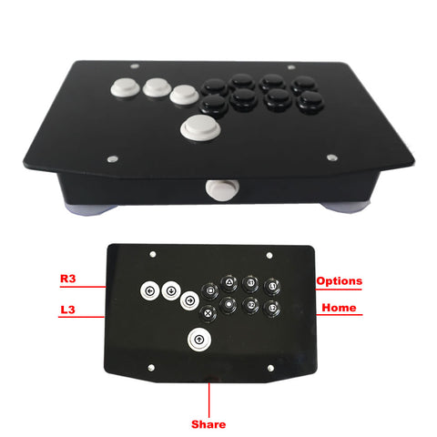 RAC-J500B-P4 All Buttons Arcade Fight Stick Game Controller Hitbox Joystick For PS4/PC