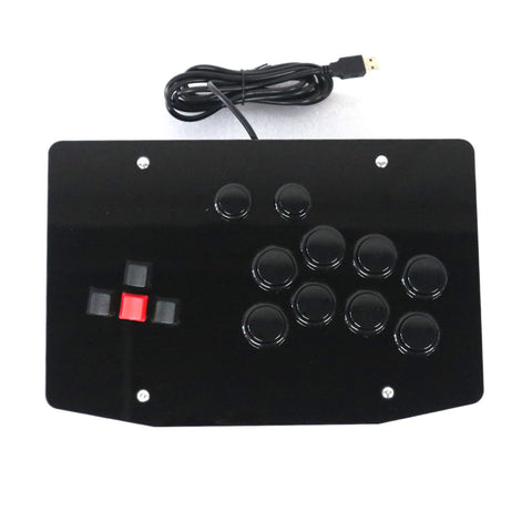 RAC-J500K-P4 Keyboard Arcade Fight Stick Game Controller Joystick for PS4