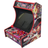 Mini Bartop Arcade Game Machine Raspberry PI 4 Model B 4GB 128G Marvel vs Capcom