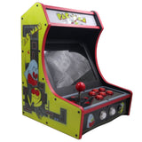 Mini Bartop Arcade Game Machine Cabinet Raspberry PI 4 Model B 4GB 128G