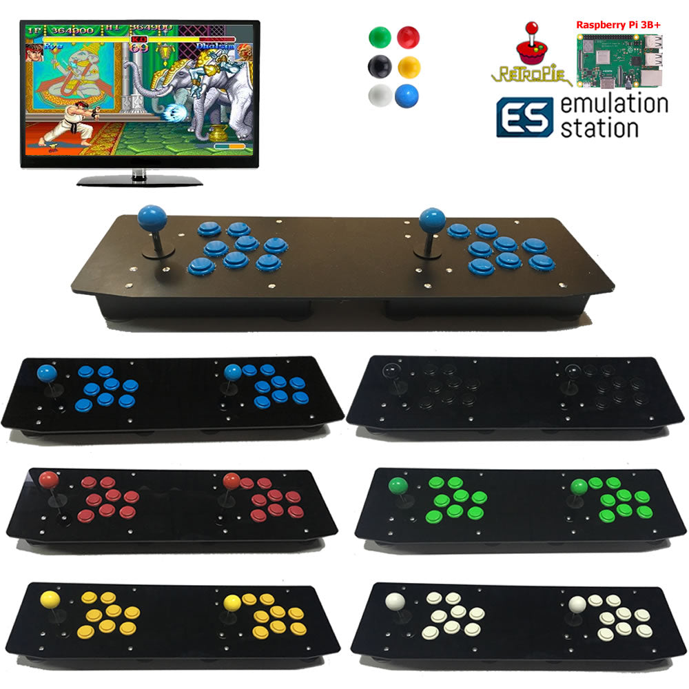 TableTop Arcade Raspberry Pi B+ Retro Game Console Two Players