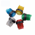 10pcs 28mm Push Button Led Illuminated 5v Switch Arcade Joystick Multi Colors