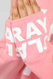 Pray Then Slay Sweatshirt - Pink