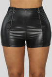 Party Girl Individuality Shorts - Black