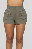 Yacht Club Shorts - Olive