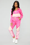 Cute Girl Lounge Set - Pink/Multi