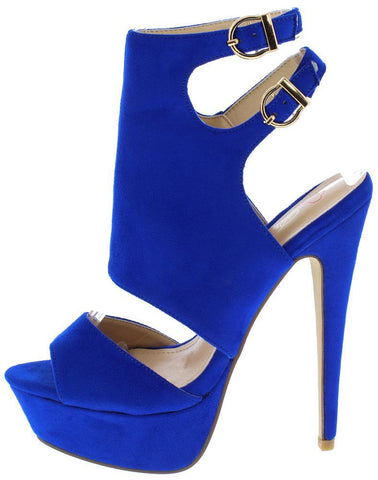 Royal Blue Woman's Heel
