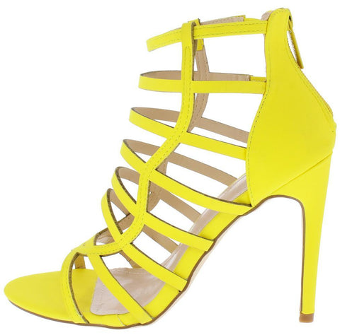 Yellow Woman's Heel