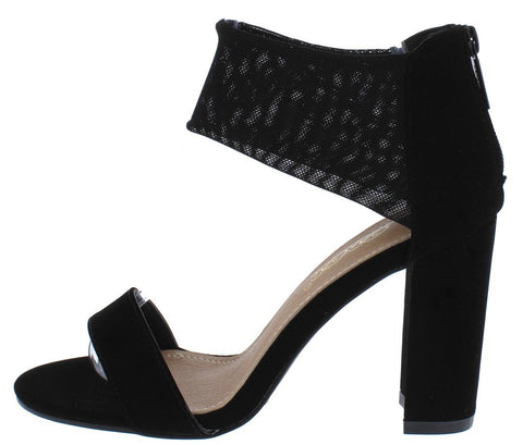 Black Woman's Heel