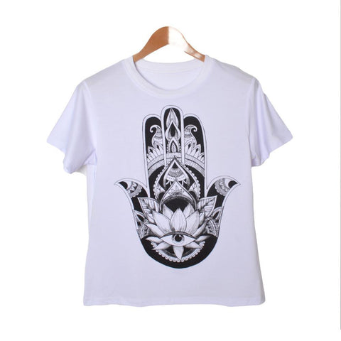 Individuality Hand 3D Print T-Shirt
