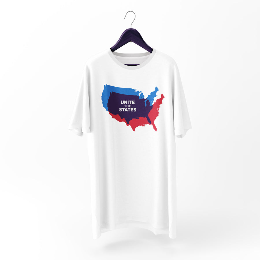 USA Map UTS Short Sleeve T-shirt