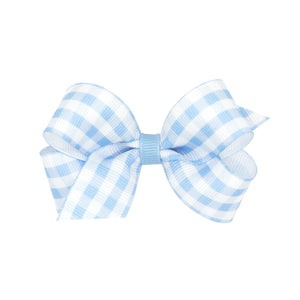 Gingham Hairbow (More Colors)