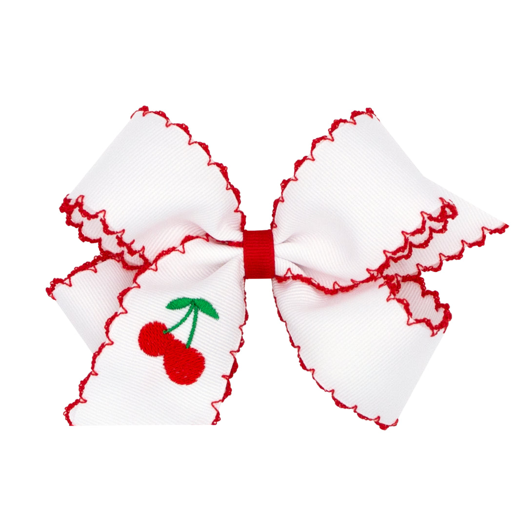 Fruit Embroidered Hairbows (More Styles)