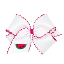 Load image into Gallery viewer, Fruit Embroidered Hairbows (More Styles)