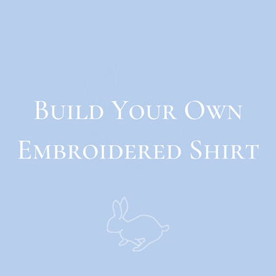 Boys Build Your Own Embroidered Shirt