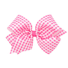 Load image into Gallery viewer, Gingham Hairbow (More Colors)