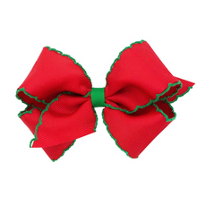 Load image into Gallery viewer, Moonstitch Hairbows by WeeOnes (more colors)