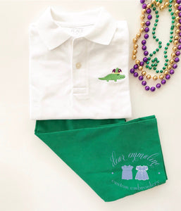 Boys Mardi Gras Polo