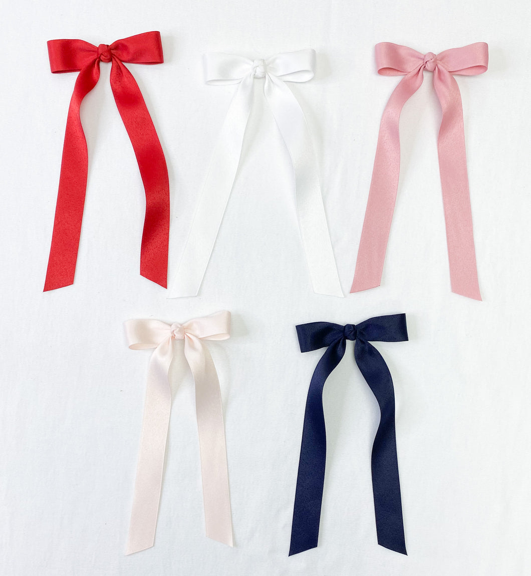 Mini Matte Satin Ribbon Bow