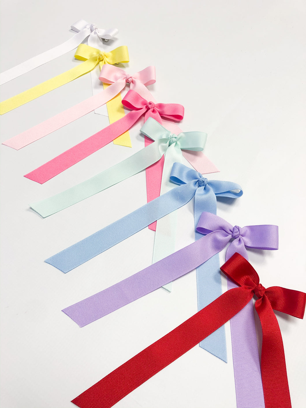Grosgrain Long Ribbon Bows